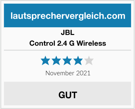 JBL Control 2.4 G Wireless Test