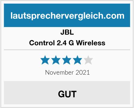 JBL Control 2.4 G Wireless Test