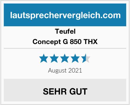 Teufel Concept G 850 THX Test
