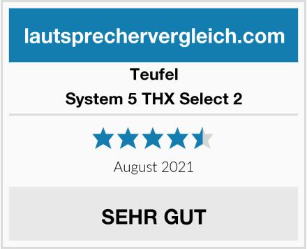 Teufel System 5 THX Select 2 Test