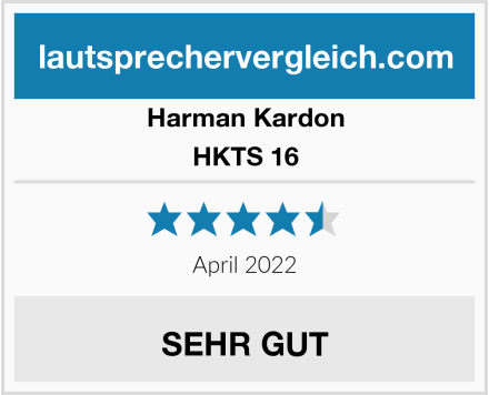 Harman Kardon HKTS 16 Test
