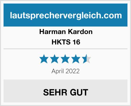 Harman Kardon HKTS 16 Test