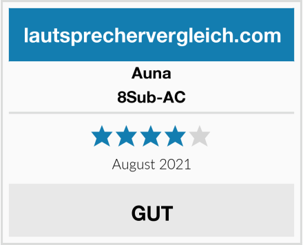 Auna 8Sub-AC Test