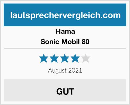 Hama Sonic Mobil 80 Test