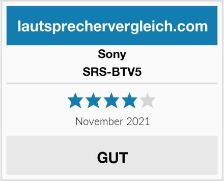 Sony SRS-BTV5 Test
