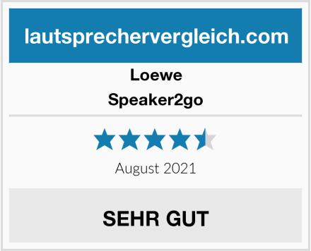 Loewe Speaker2go Test