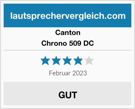 Canton Chrono 509 DC Test