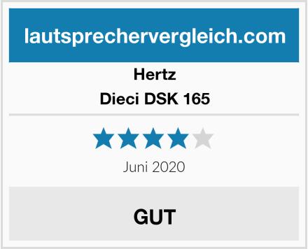 Hertz Dieci DSK 165 Test