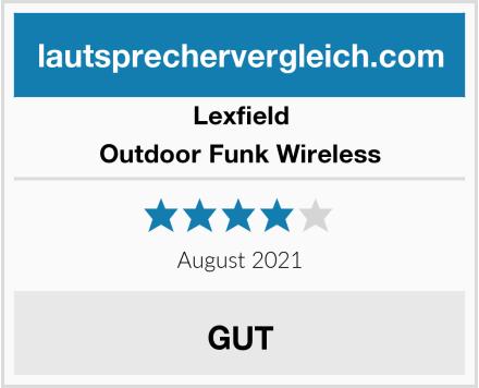 Lexfield Outdoor Funk Wireless Test