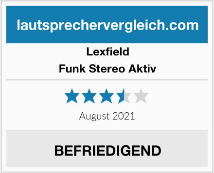 Lexfield Funk Stereo Aktiv Test
