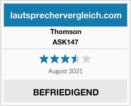 Thomson ASK147 Test
