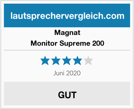 Magnat Monitor Supreme 200 Test