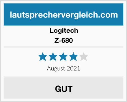 Logitech Z-680 Test