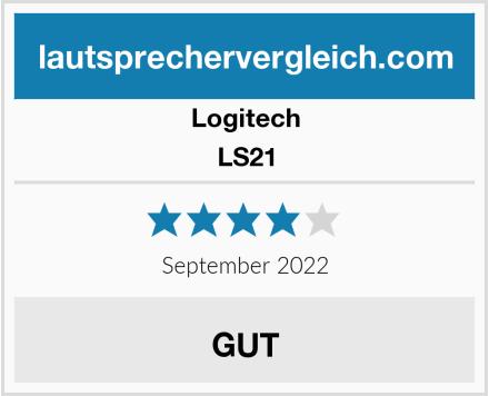 Logitech LS21 Test