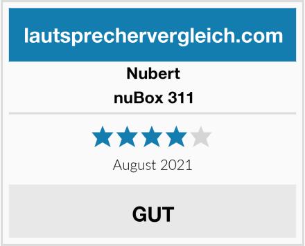 Nubert nuBox 311 Test