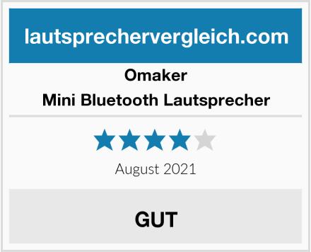 Omaker Mini Bluetooth Lautsprecher Test