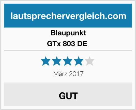 Blaupunkt GTx 803 DE  Test
