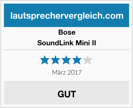 Bose SoundLink Mini II Test
