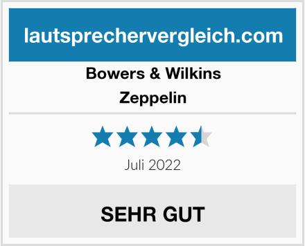 Bowers & Wilkins Zeppelin  Test