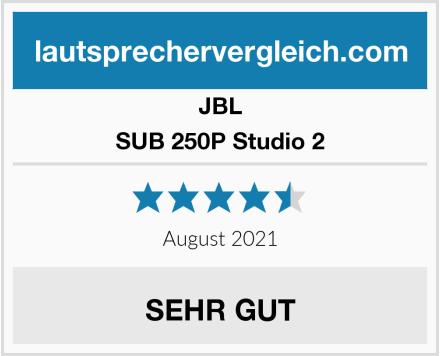 JBL SUB 250P Studio 2 Test
