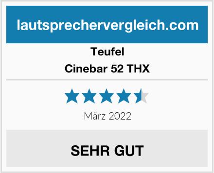 Teufel Cinebar 52 THX Test