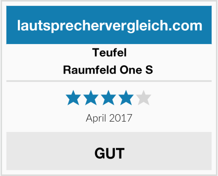 Teufel Raumfeld One S  Test