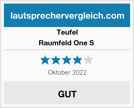 Teufel Raumfeld One S  Test