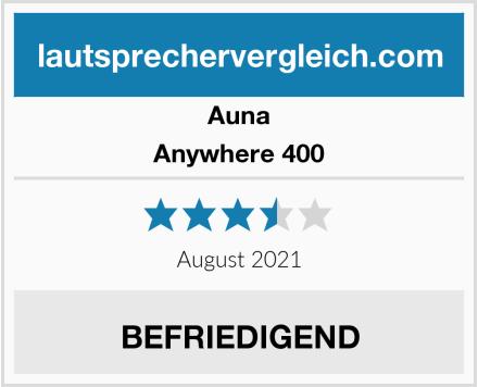 Auna Anywhere 400 Test