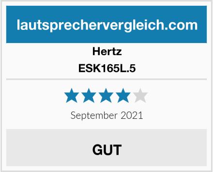 Hertz ESK165L.5 Test