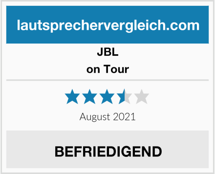 JBL on Tour Test