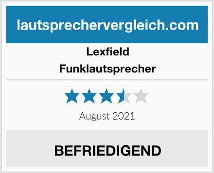 Lexfield Funklautsprecher Test