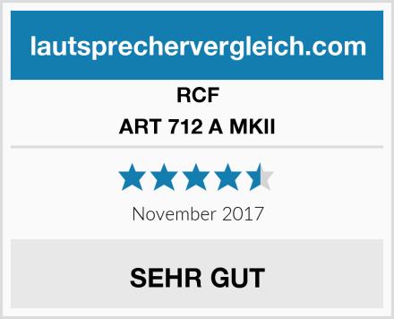 RCF ART 712 A MKII Test