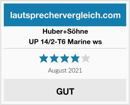 Huber+Söhne UP 14/2-T6 Marine ws Test