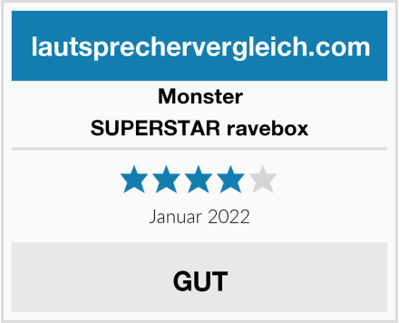 Monster SUPERSTAR ravebox Test