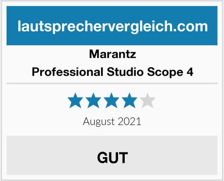 Marantz Professional Studio Scope 4 Test
