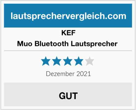 KEF Muo Bluetooth Lautsprecher  Test