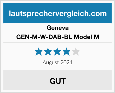 Geneva GEN-M-W-DAB-BL Model M Test