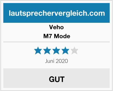 Veho M7 Mode Test