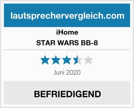 iHome STAR WARS BB-8 Test