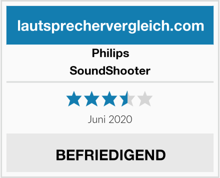 Philips SoundShooter Test