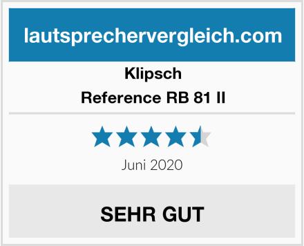 Klipsch Reference RB 81 II Test