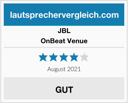 JBL OnBeat Venue Test