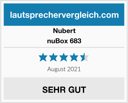 Nubert nuBox 683 Test