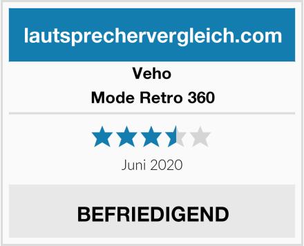 Veho Mode Retro 360 Test
