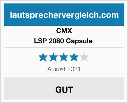 CMX LSP 2080 Capsule  Test