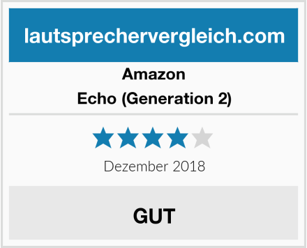 Amazon Echo (Generation 2) Test