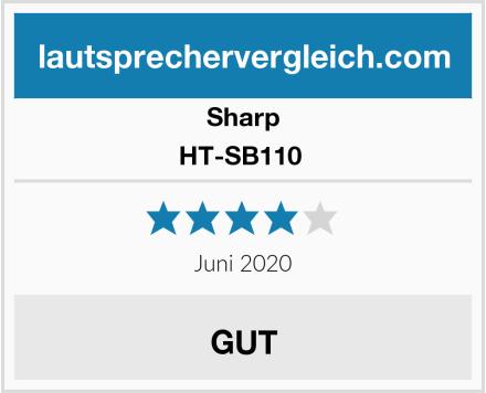 Sharp HT-SB110  Test