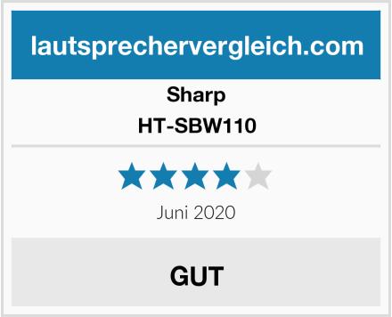Sharp HT-SBW110 Test