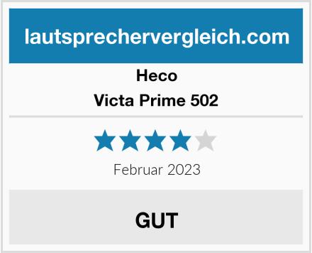 Heco Victa Prime 502 Test