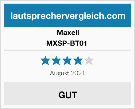 Maxell MXSP-BT01  Test